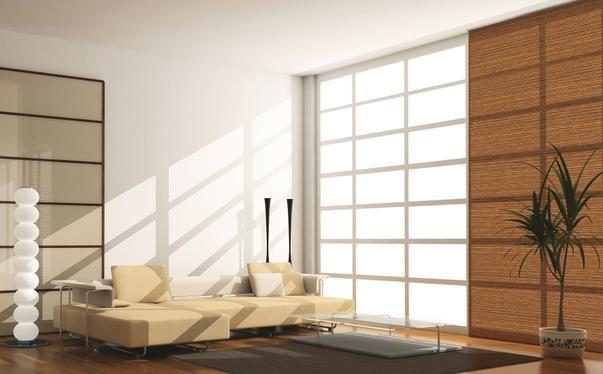 Persianas de interior panel japon s jim nez mobiliario for Persianas de interior